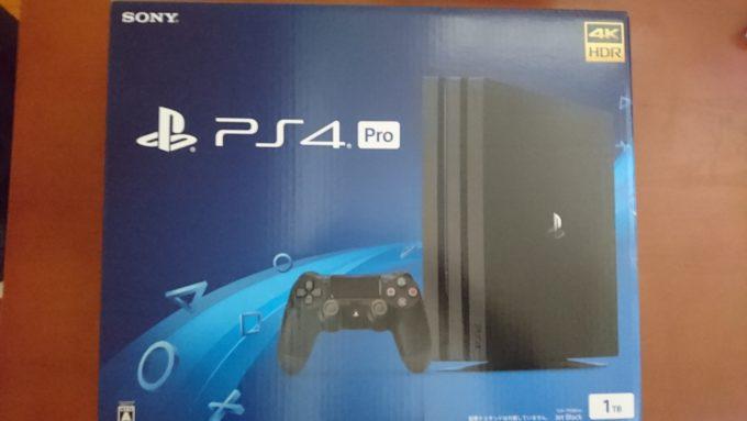 PS4Pro外箱