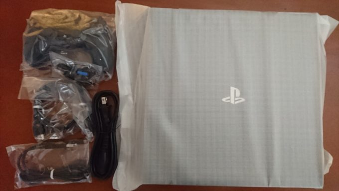 PS4Pro取り出し