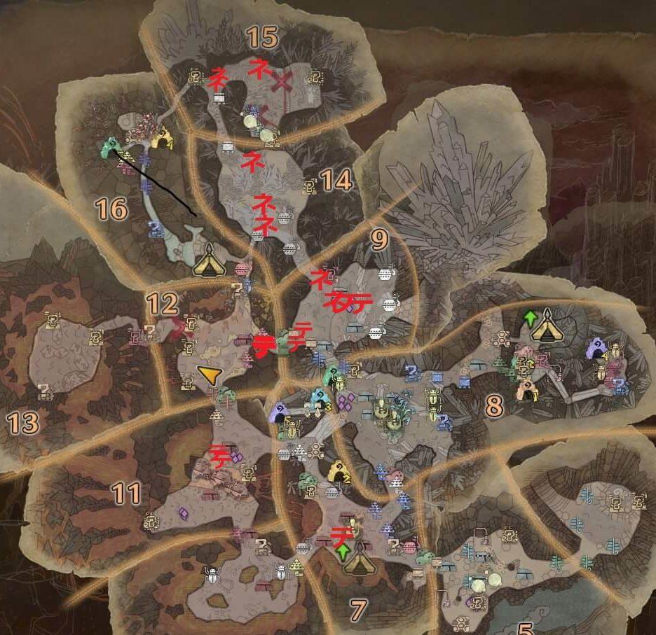 納品、何はともあれ痕跡マップ2