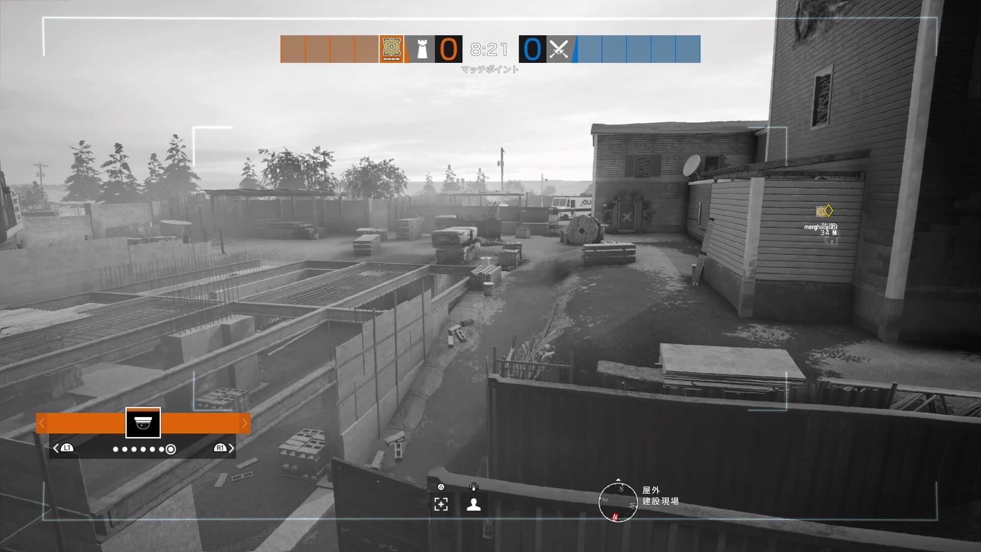 r6sオレゴン監視カメラ7防衛右